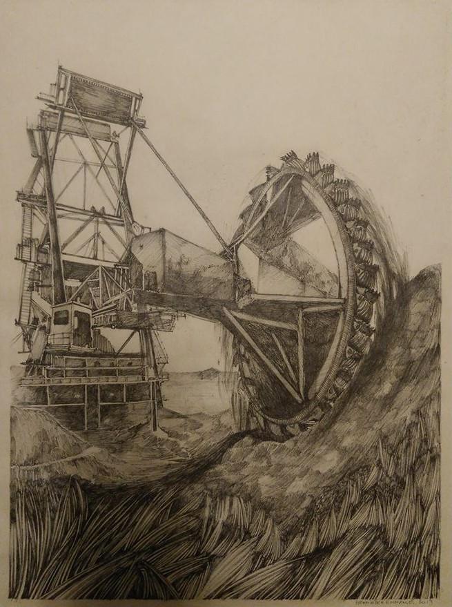 Emmanuel Henninger, excavator, carbon, dioxide, coal