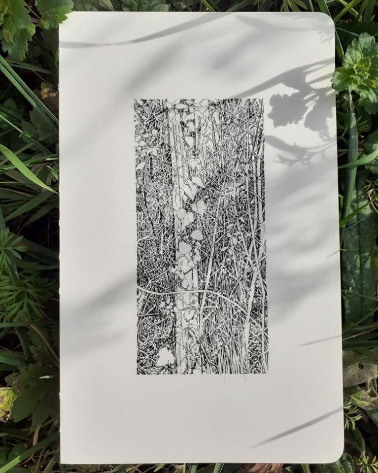 Emmanuel, Henninger, Muggardt, forêt noire, dessin, art, Kunstcheune, freiburg