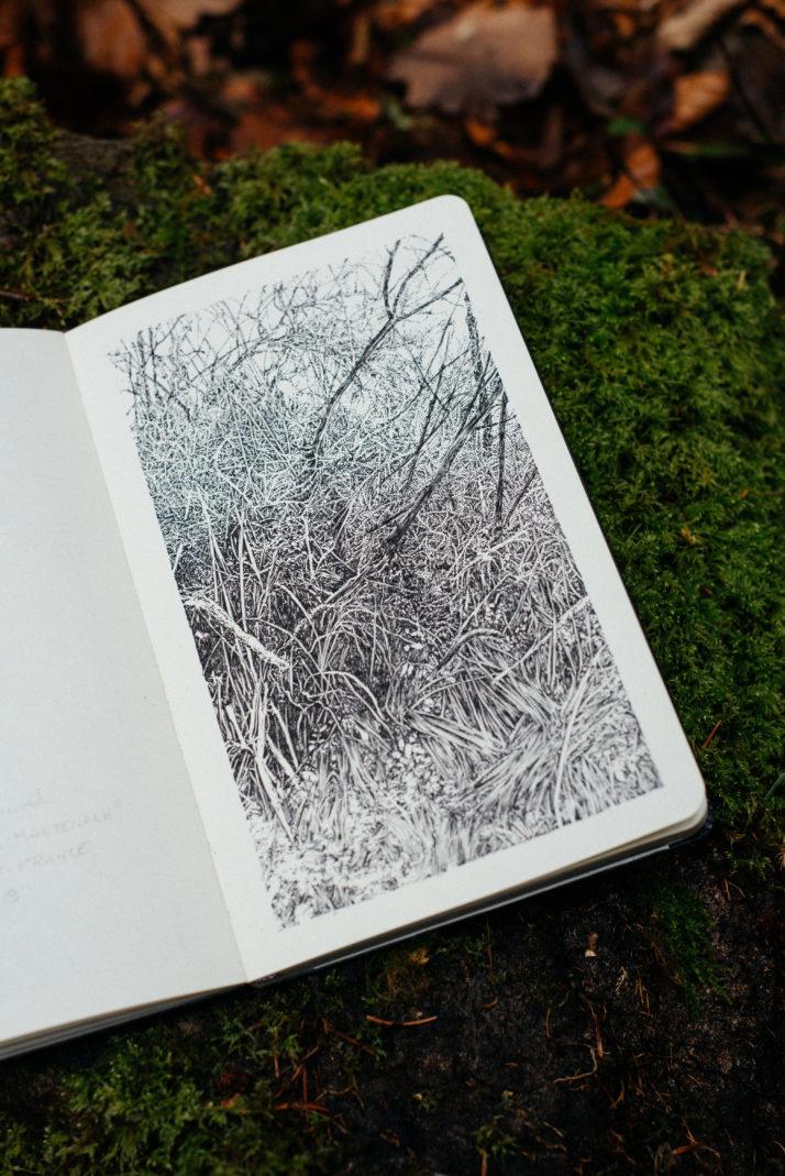 Emmanuel, Henninger, Oliver, Kramer, Landscape, Art, Drawing, Envrionment, Nature, Fineart, Drawing