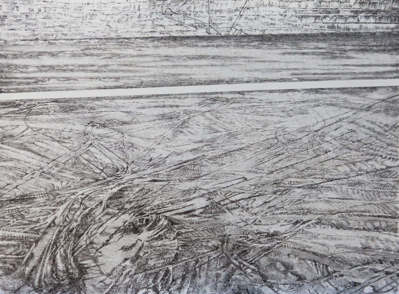 emmanuel henninger, art, contemporary art, drawings, openpit, france