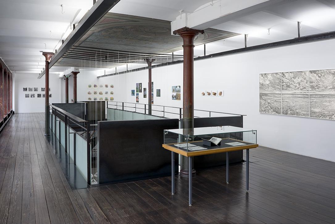exposition, strasbourg, CEAAC, Emmanuel Henninger, dessin, paysage, noir, blanc, carnet, voyage, allemagne