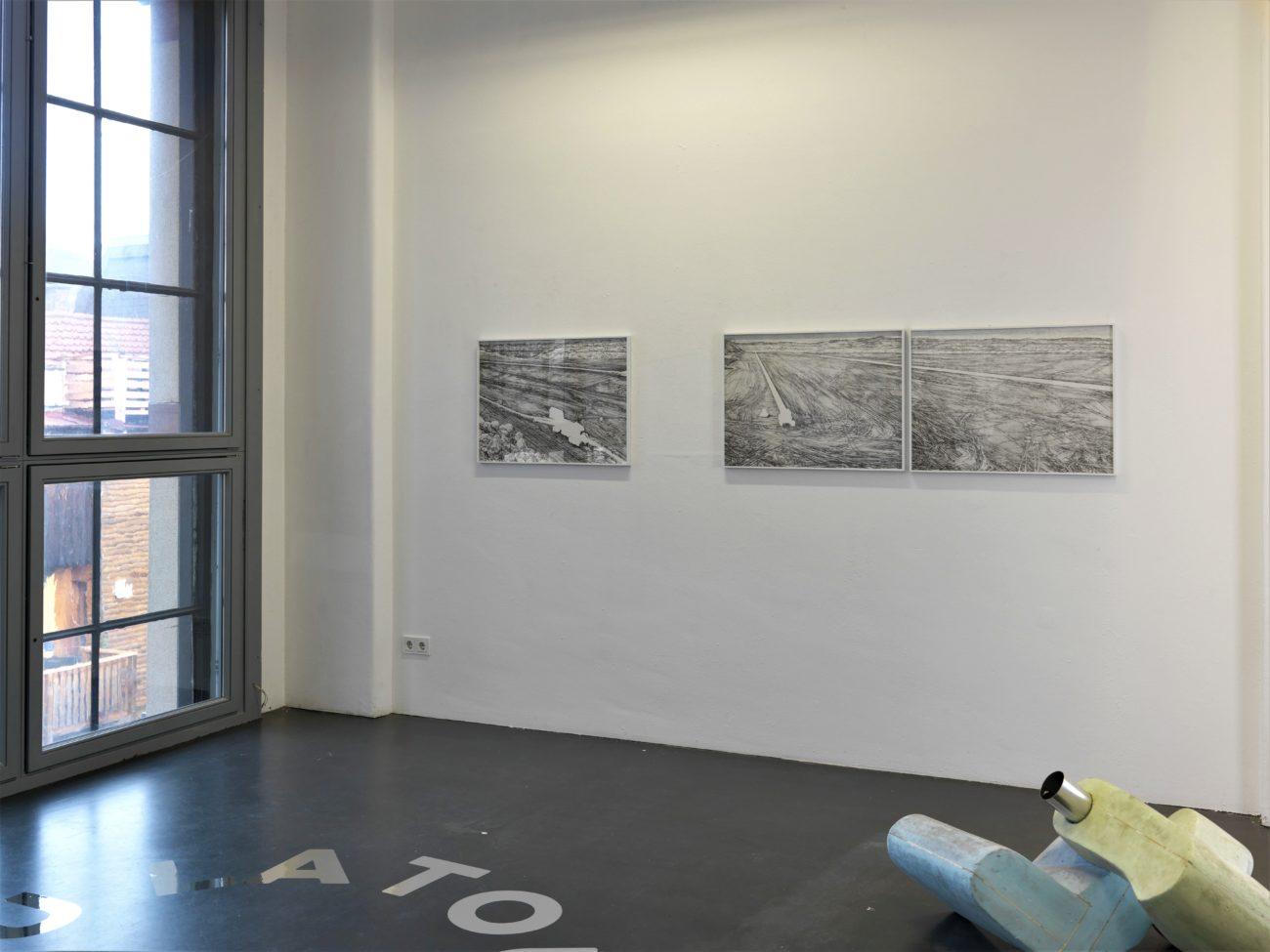 T66, Freiburg, exposition, open pit, allemagne, art, dessin, zeichnungen, henninger